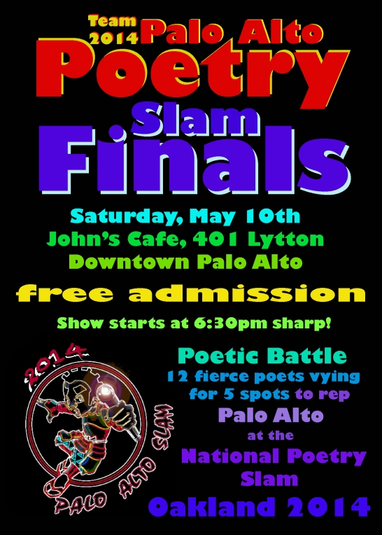 Palo Alto Slam Finals is This Saturday!